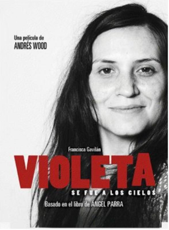 Violeta se fue a los cielos: la locandina del film