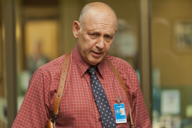 Justified: Nick Searcy in una scena dell'episodio The Gunfighter