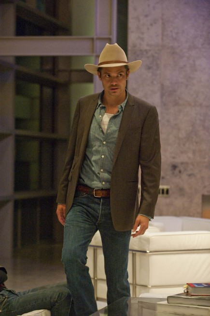 Justified: Timothy Olyphant nell'episodio The Moonshine War