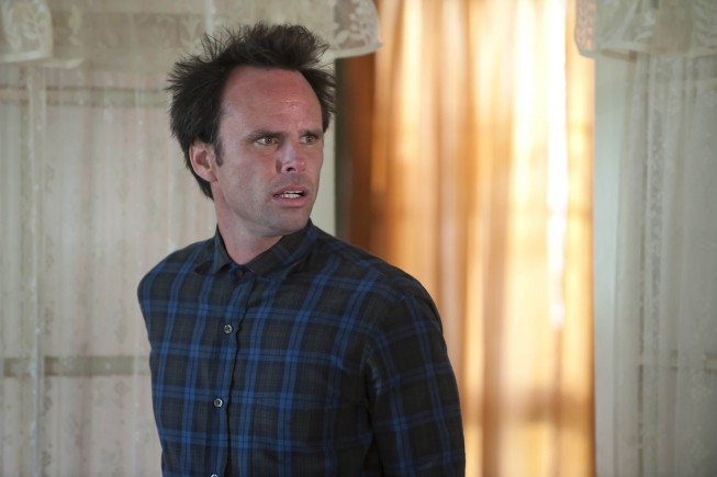 Justified: Walt Goggins nell'episodio Bloody Harlan