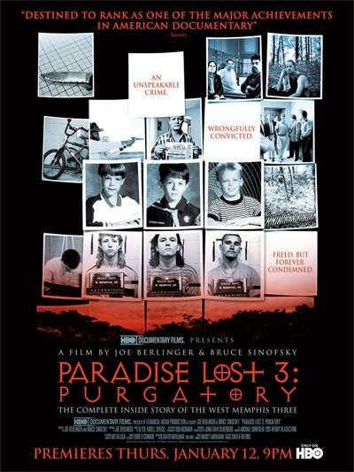 Paradise Lost 3: Purgatory: la locandina del film