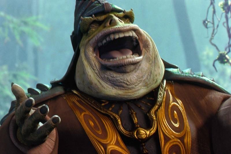 Star Wars: Episode I - La minaccia fantasma 3D, Boss Rugor Nass in una scena del film
