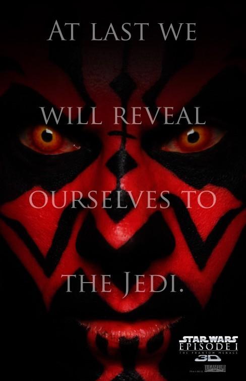 Star Wars: Episode I - The Phantom Menace 3D: nuovo poster USA 1