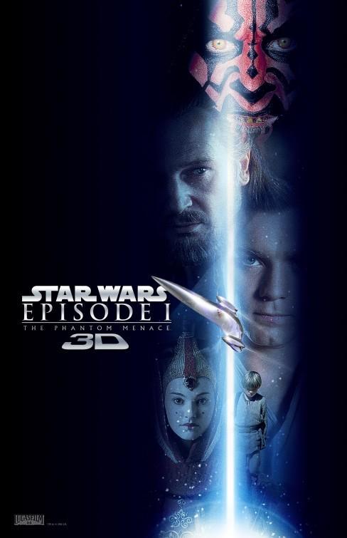 Star Wars: Episode I - The Phantom Menace 3D: nuovo poster USA 4