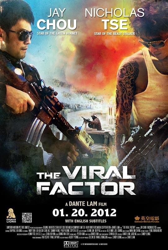 The Viral Factor: ecco una nuova locandina del thriller di Dante Lam