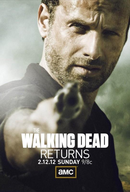 The Walking Dead: un poster per il ritorno in onda della stagione 2 dopo la pausa invernale