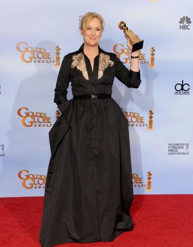 Golden Globes 2012: Meryl Streep, miglior attrice drammatica per The Iron Lady