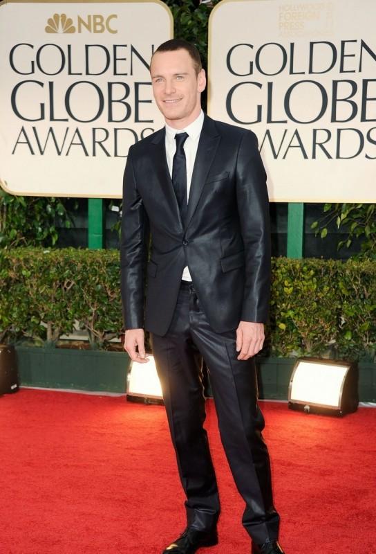 Michael Fassbender sul red carpet dei Golden Globes 2012