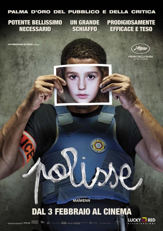 Polisse: la locandina itailana del film