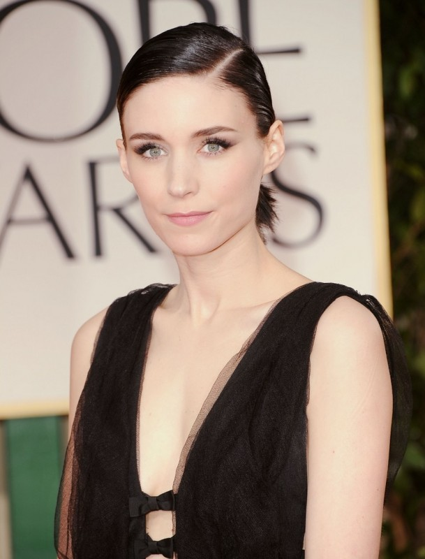 Rooney Mara sul red carpet dei Golden Globes 2012