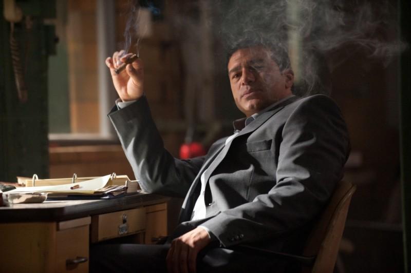 The Double: Tamer Hassan in una scena del film