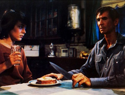 Anthony Perkins in Psycho II con Meg Tilly