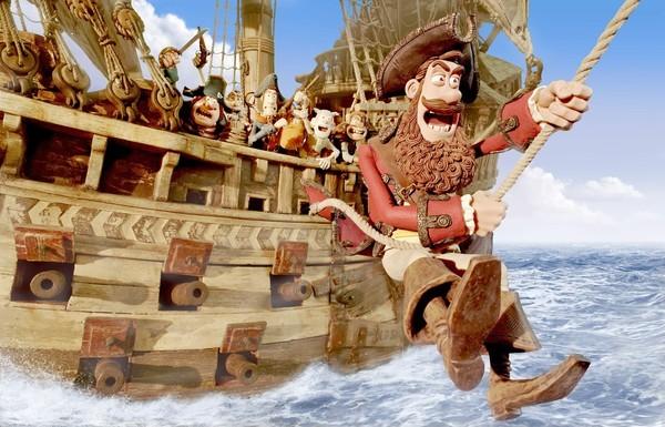 Bucanieri all'arrembaggio in una scena di Pirati! Briganti da strapazzo