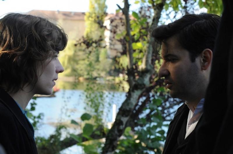 Eric Caravaca, Céline Sallette in Ici-bas
