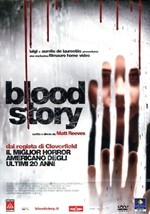 La copertina di Blood Story (dvd)