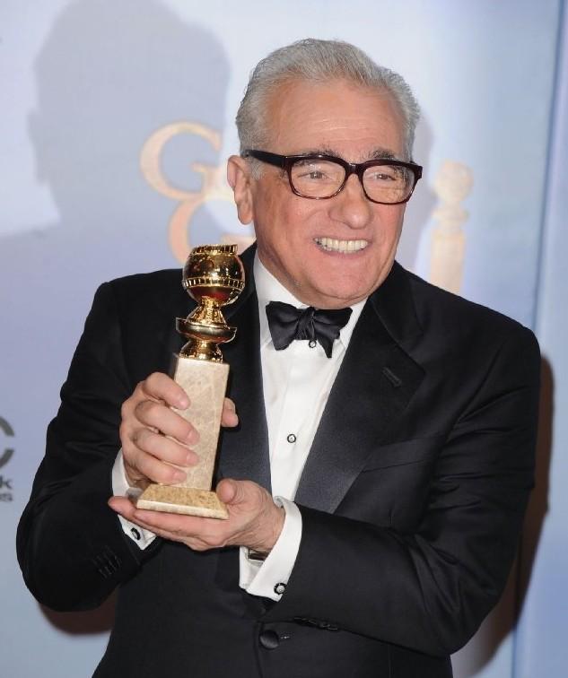 Martin Scorsese premiato ai Golden Globes 2012 per Hugo Cabret