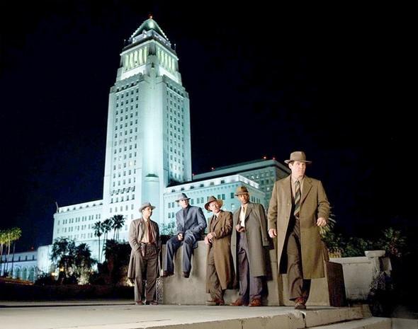 Una scena corale di The Gangster Squad