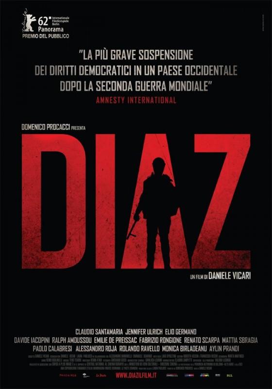 Diaz - Don't Clean Up This Blood: la locandina del film