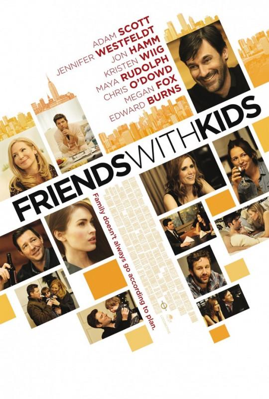 Friends With Kids: ecco la locandina