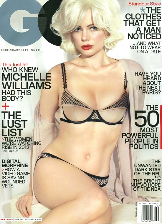 Michelle Williams gioca a fare Marilyn sulla cover di GQ