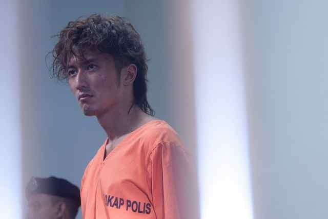 The Viral Factor: Nicholas Tse  in una scena del film