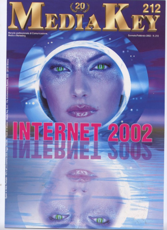 Anna Rigon sulla cover del magazine Mediakey
