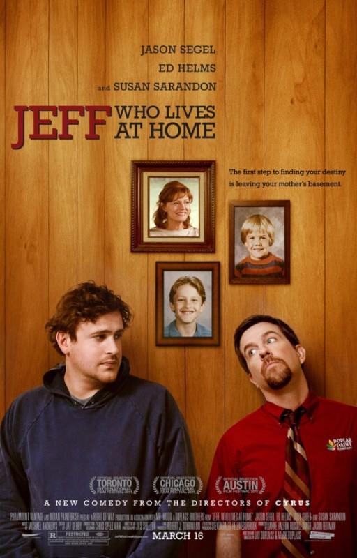 Jeff Who Lives at Home: la locandina del film