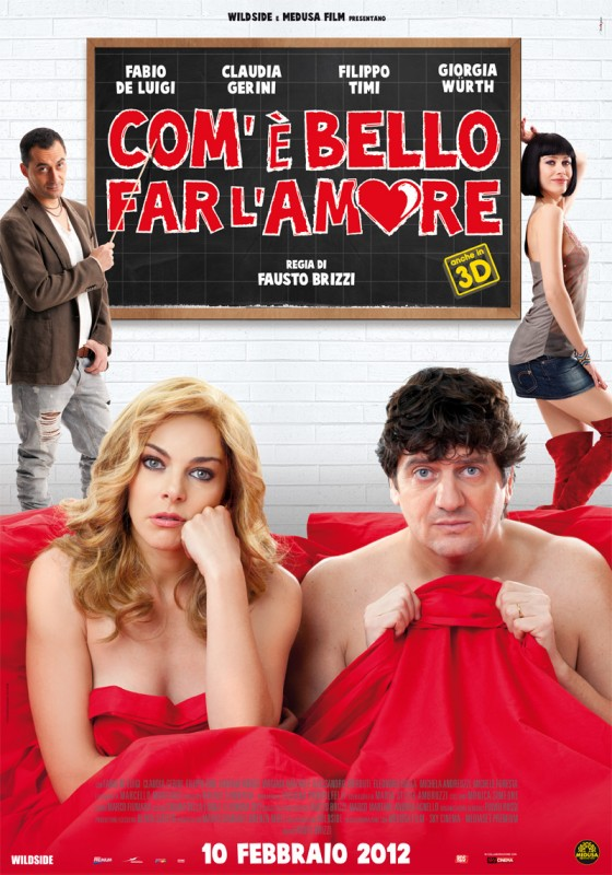 Com'è bello far l'amore: la locandina del film