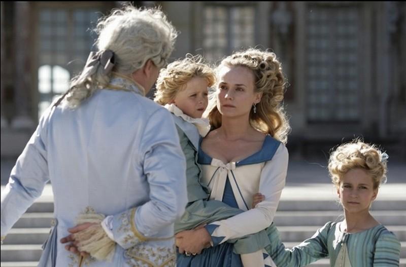 Diane Kruger nei panni di Maria Antonietta in una scena di Farewell, My Queen