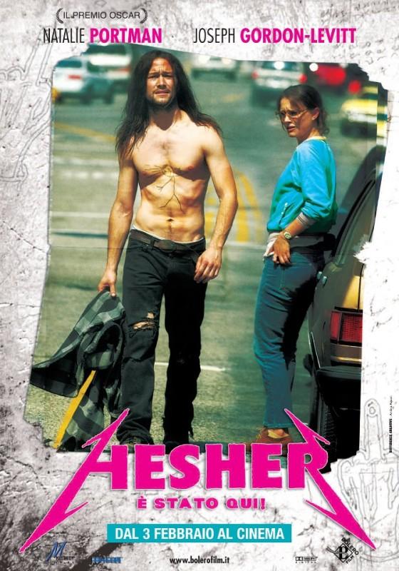 Hesher è stato qui: la locandina del film
