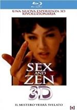 La copertina di Sex and Zen 3D (blu-ray)