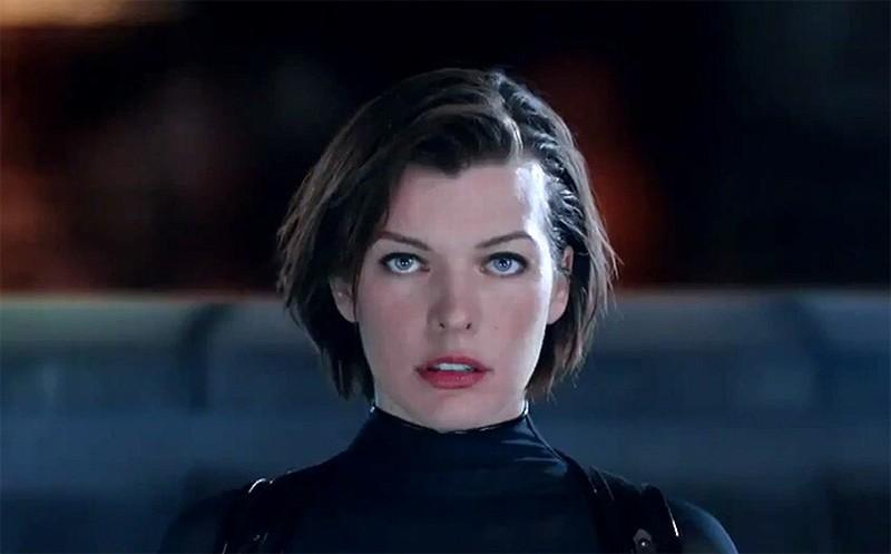 Milla Jovovich in una scena di Resident Evil: Retribution