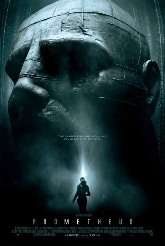 Prometheus: la locandina internazionale del film