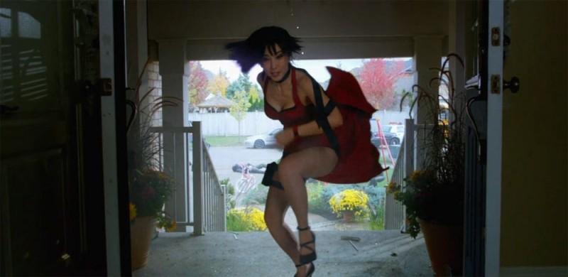 Resident Evil: Retribution, Bingbing Li in una scena del film