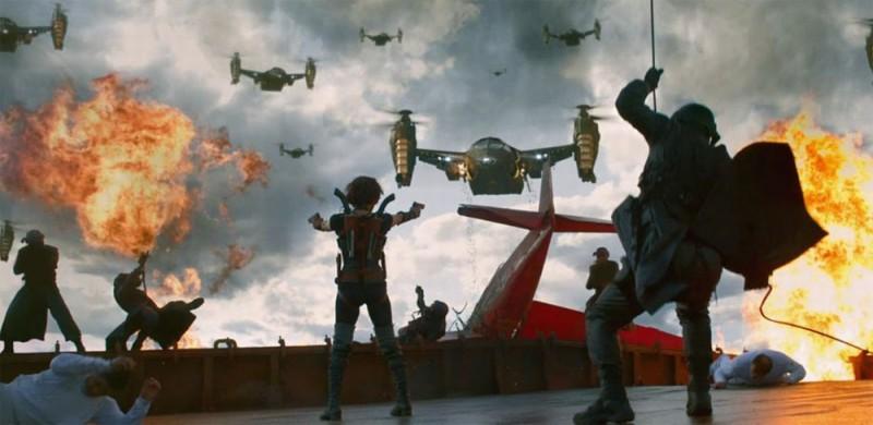 Resident Evil: Retribution (2012) una scena del film