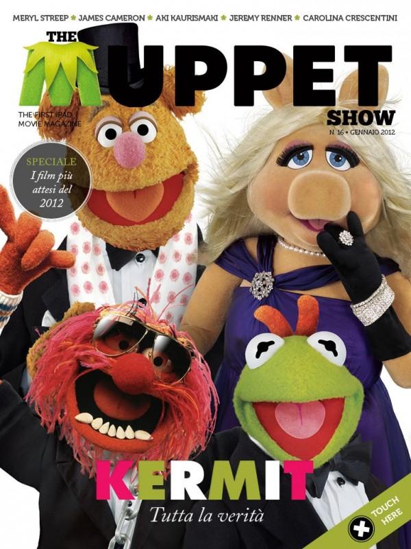 Una delle 2 copertine del magazine The Cinema Show dedicate ai Muppet