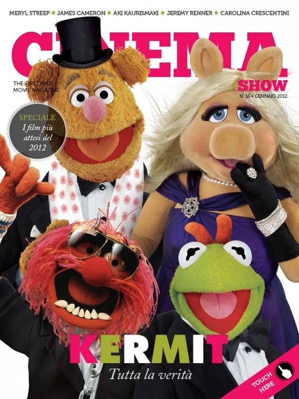 Una delle due copertine del magazine The Cinema Show dedicate ai Muppet