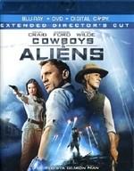 La copertina di Cowboys & Aliens (blu-ray)