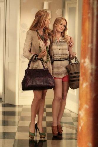 Gossip Girl: Blake Lively e Kaylee Defer nell'episodio Beauty and the Feast