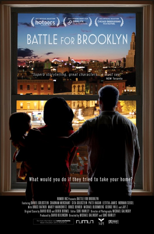 Battle for Brooklyn: la locandina del film