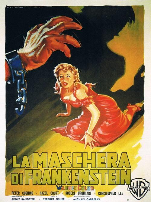 La maschera di Frankenstein - locandina del film
