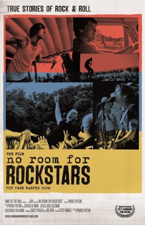 No Room for Rockstars: la locandina del film
