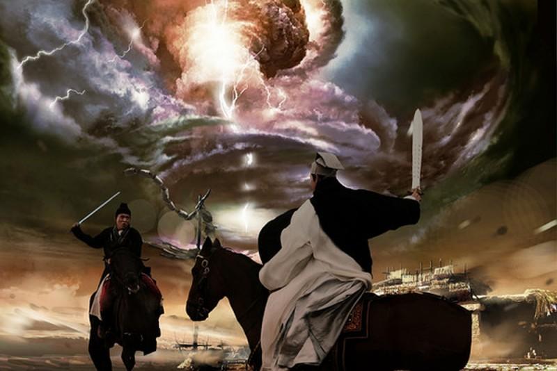 The Flying Swords of Dragon Gate: Jet Li in una scena d'azione del film