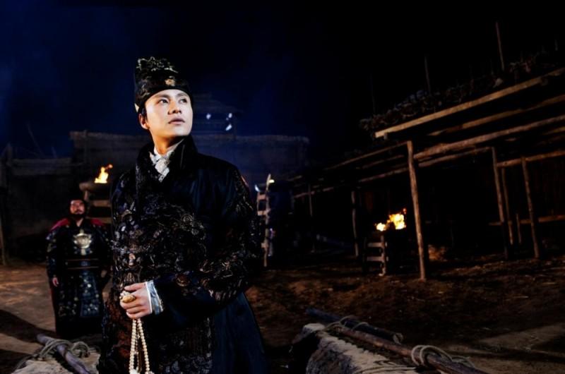 The Flying Swords of Dragon Gate: Kun Chen in una scena del film