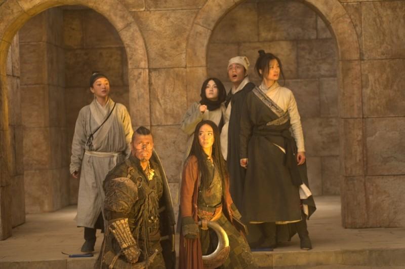 The Flying Swords of Dragon Gate: una scena del film