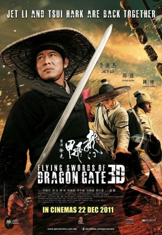 The Flying Swords of Dragon Gate: uno dei poster del film con Jet Li