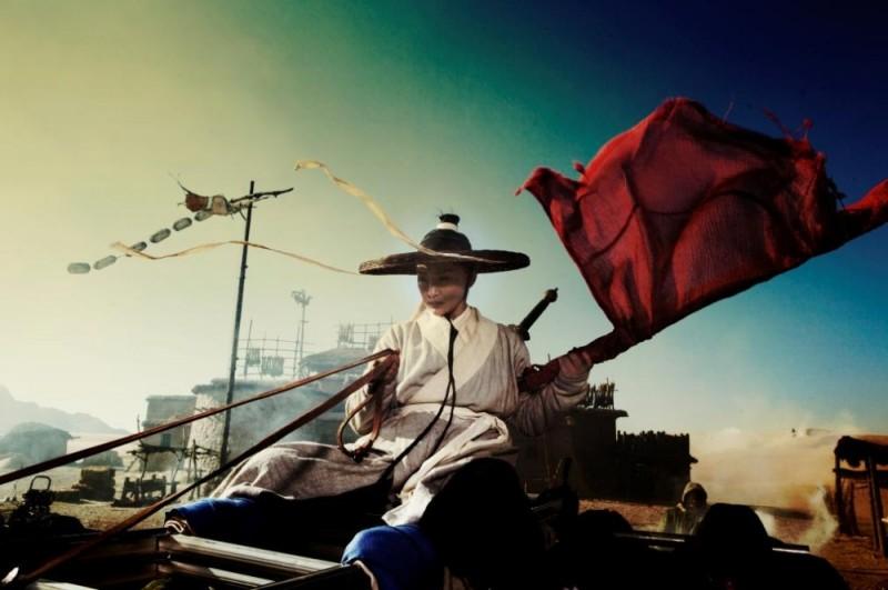 The Flying Swords of Dragon Gate: Xun Zhou in una scena del film nei panni di Jade