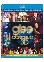 La copertina di Glee - The 3D Concert Movie (blu-ray)