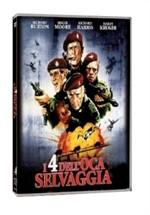 La copertina di I quattro dell'oca selvaggia (dvd)