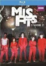 La copertina di Misfits - Stagione 2 (blu-ray)